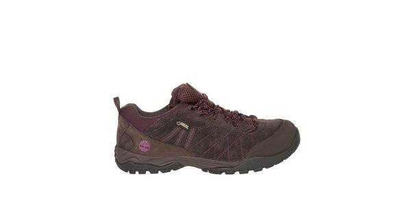 Dámske hnedé trekové topánky Timberland