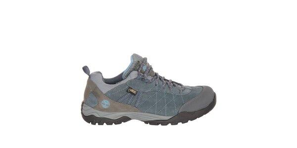 Dámske modrošedé trekové topánky Timberland