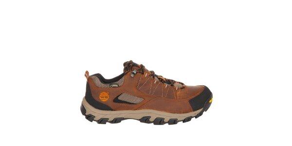 Pánske tehlové nízke trekové topánky Timberland