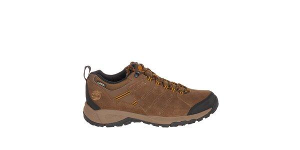Pánske svetlo hnedé nízke topánky Timberland