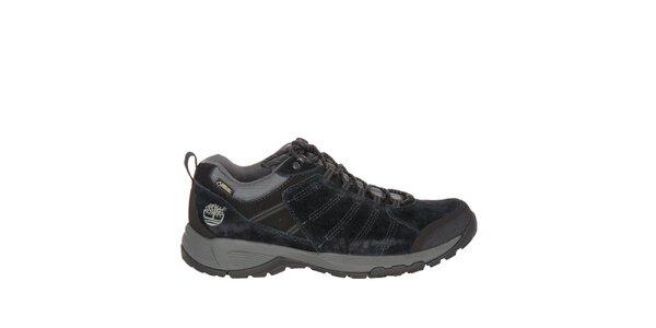 Pánske čierne nízke trekové topánky Timberland