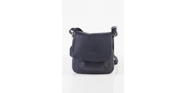 Malá dámska temne modrá kabelka Fuchsia