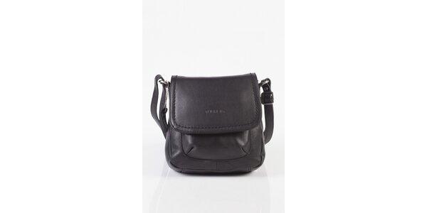 Malá dámska čierna kabelka Fuchsia
