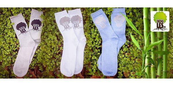 Bambusové ponožky Dedoles 6 párov