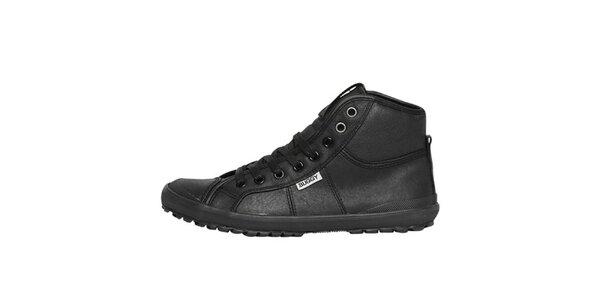 Dámske čierne členkové topánky Buggy