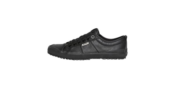 Pánske nízke kožené topánky Buggy