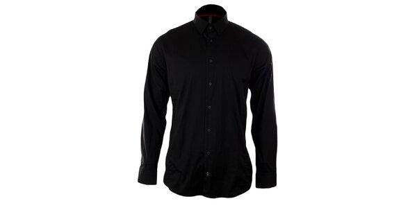 Pánska čierna košeľa Pietro Filipi