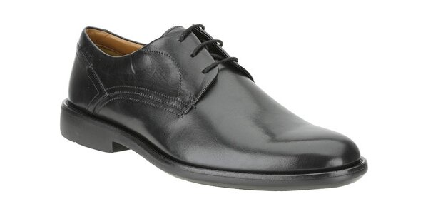 Čierne klasické topánky Clarks