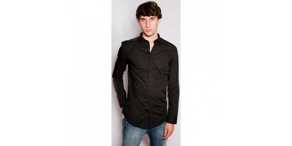 Pánska čierna košeľa Diesel
