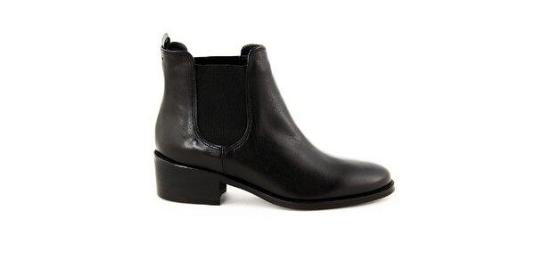 Dámske čierne chelsea topánky Eye