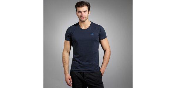 Pánske tmavo modré tričko Diesel