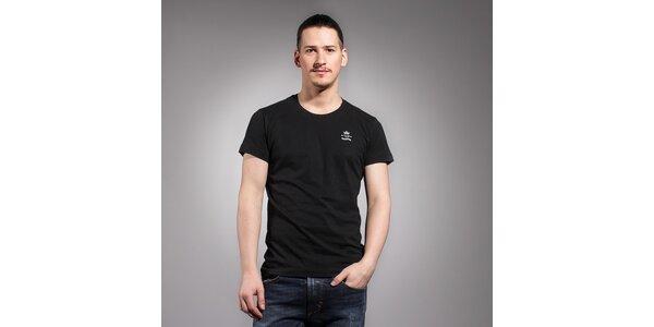 Pánske čierne tričko Diesel