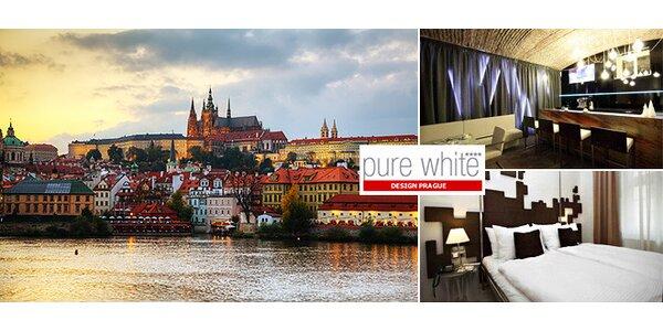 Pobyt pre 2 v hoteli Pure White**** Praha