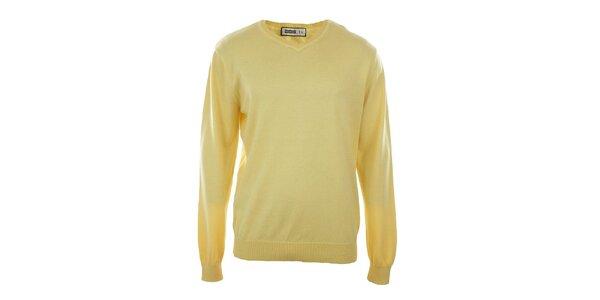 Pánsky žltý véčkový sveter Big Star