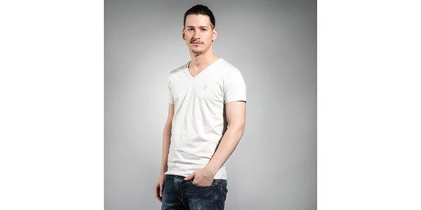 Pánske biele tričko Diesel