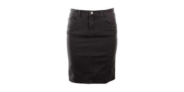 Dámska šedá džínsová sukňa Big Star