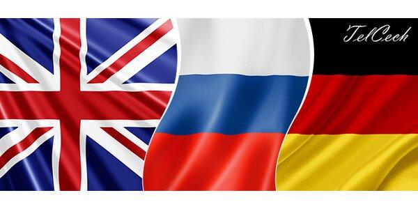 Kurzy nemeckého, anglického a ruského jazyky