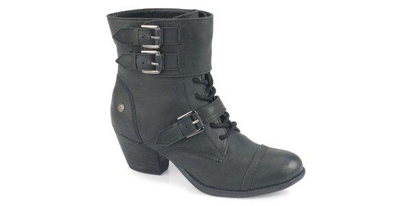 Dámske šnúrovacie členkové topánky Blink