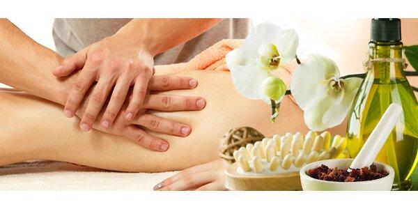 50 minútová anticelulitídna masáž stehien a zadnej časti tela