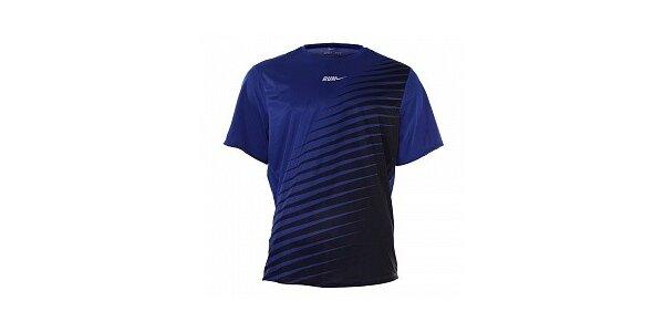 Pánske tmavo modré tričko Nike s potlačou