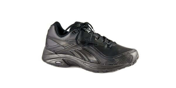 Čierne kožené tenisky Reebok Ultimate Walk