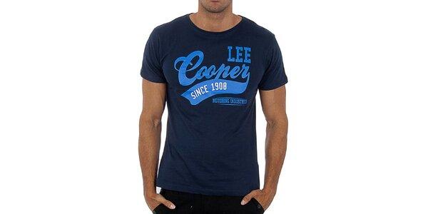 Pánske tmavo modré tričko Lee Cooper