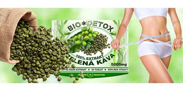 Zoštíhľovacie tablety zo zelenej kávy