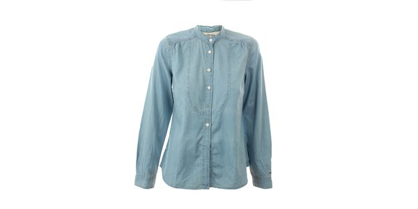 Dámska svetlo modrá džínsová košeľa Tommy Hilfiger