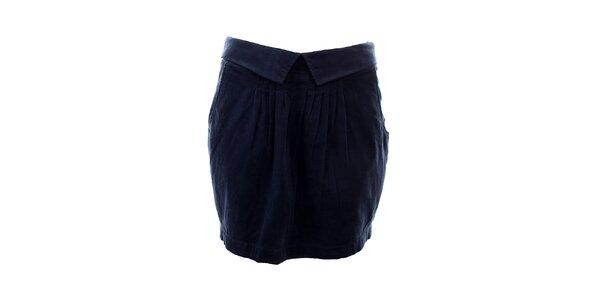 Dámska tmavo modrá sukňa Tommy Hilfiger