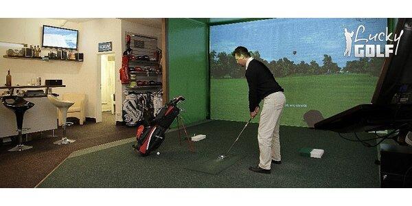 3D golfový simulátor