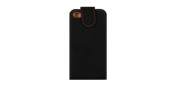 Čierne púzdro na iPhone 4/4S
