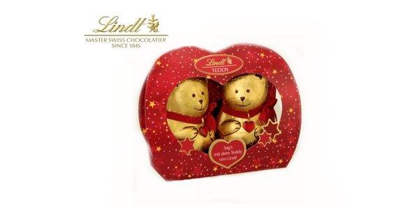 Super darček na Valentína - Lindt teddy