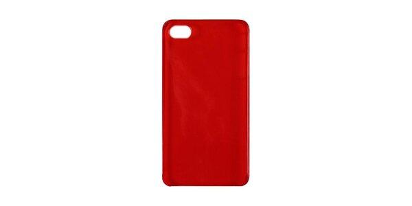 Červené plastové púzdro na iPhone 4/4S