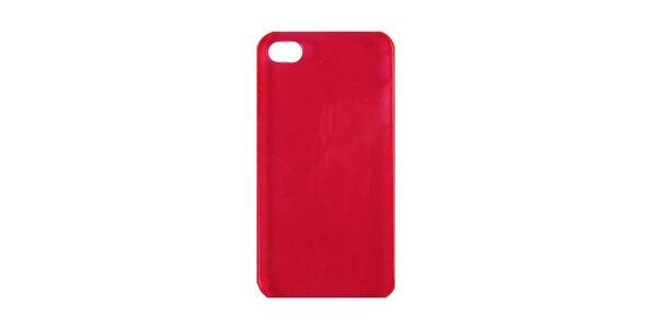 Ružové plastové púzdro na iPhone 4/4S