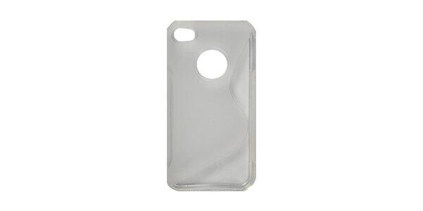 Transparentné silikónové púzdro na iPhone 4/4S