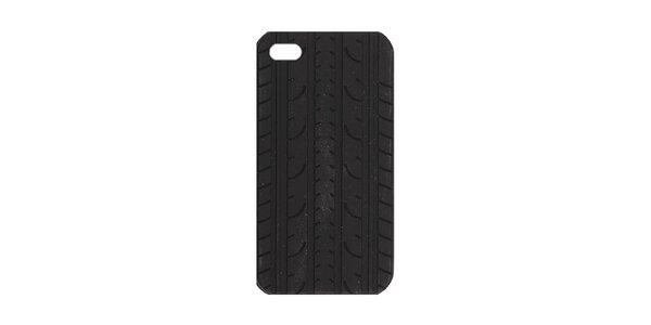 Čierne silikónové púzdro na iPhone 4/4S