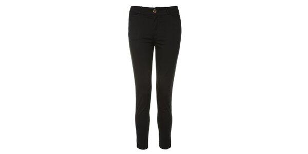 Dámske čierne úzke nohavice Yumi