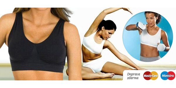 3 praktické a pohodlné bezšvové podprsenky na šport a bežné nosenie