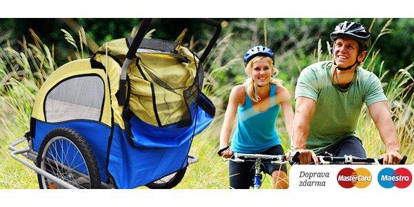 Praktický vozík za bicykel, s ktorým vezmete kdekoľvek aj vášho drobca!