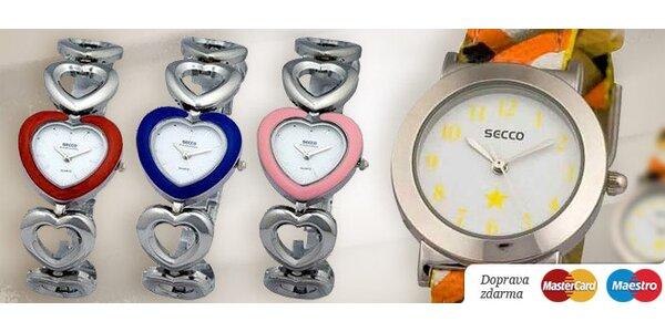 Značkové dámske a dievčenské hodinky SECCO 19a6afa3c5