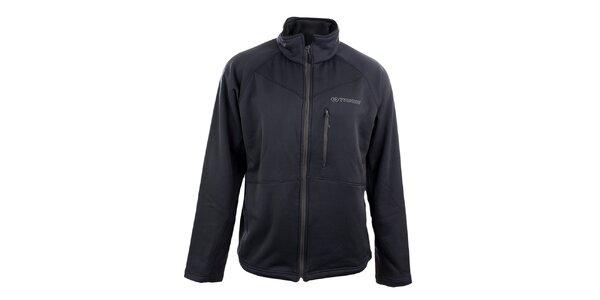 Pánska tmavo šedá softshellová bunda Trimm
