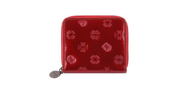 Dámska lakovaná červená peňaženka Wittchen