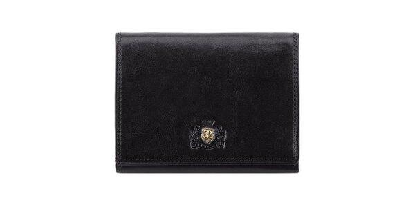 Čierna kožená peňaženka Wittchen