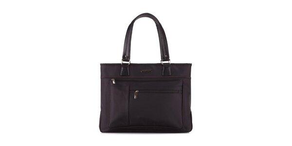 Dámska čierna taška na notebook Wittchen