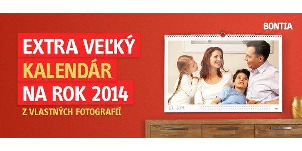 EXTRA VEĽKÝ fotokalendár na rok 2014