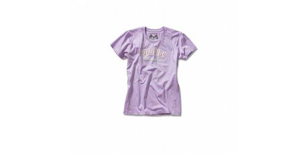Dámske orgovánové tričko Roadsign Australia s nášivkou