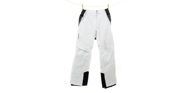 Pánske bielo-čierne lyžiarske nohavice Hannah