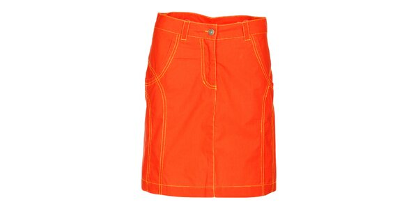 Dámska mandarinková sukňa Hannah
