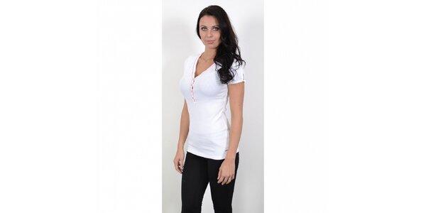 Dámske biele tričko Tommy Hilfiger