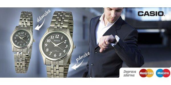 DÁMSKE alebo PÁNSKE náramkové hodinky značky SECCO